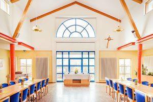 Gottesdienst in barrierefreier Pension – Haus Seeadler im Ostseebad Sellin auf Rügen