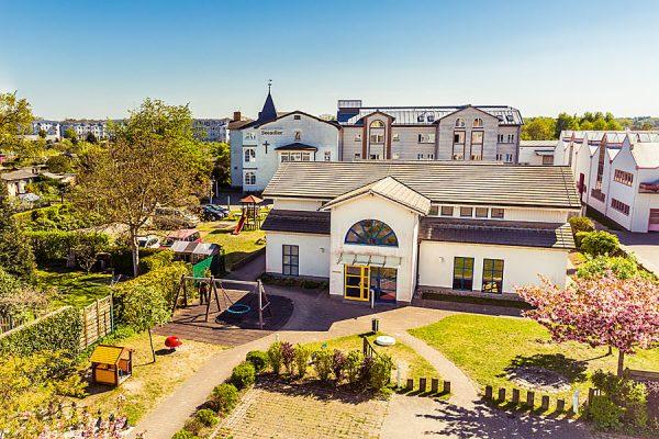 Unterkunft für Ostseeurlaub in einer Gruppe - Haus Seeadler im Ostseebad Sellin auf Rügen