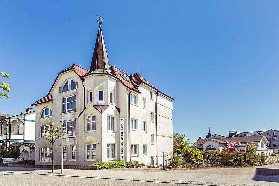 Unterkunft für Gruppen Villa Gustav Adolf im Ostseebad Sellin auf Rügen